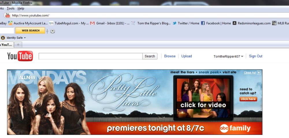 Pretty Little Liars Subliminal Ad Campaign (3/6)